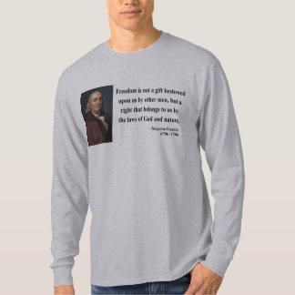 Ben Franklin Quote 4b Tees