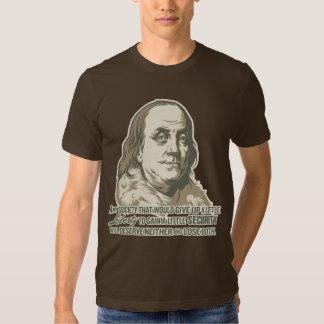 Ben Franklin Quote Shirt