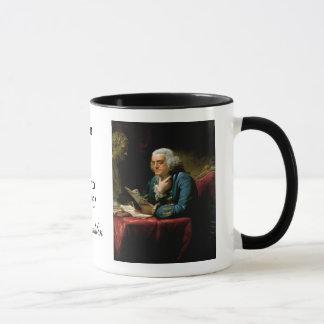 "Ben Franklin Quote ""The U. S. Constitution..."" Mug"