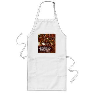 Ben Franklin s Famous Beer Quote Aprons