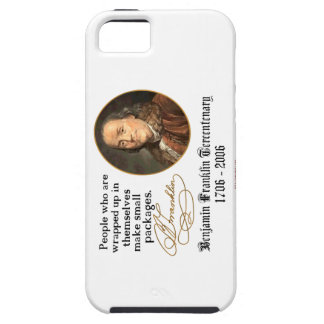 Ben Franklin - Small Packages iPhone 5 Cover
