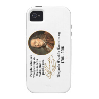 Ben Franklin - Small Packages Vibe iPhone 4 Cases