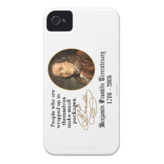 Ben Franklin - Small Packages iPhone 4 Case-Mate Case