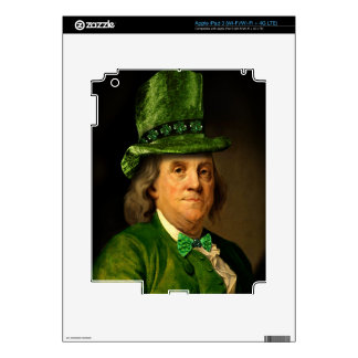 Ben Franklin, The Lucky One iPad 3 Skin