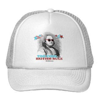 Ben Franklin - Too Cool for British Rule Trucker Hat