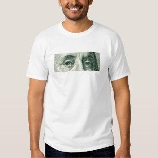 Ben Franklin's Eyes Tee Shirt
