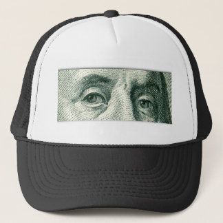 Ben Franklin's Eyes Trucker Hat