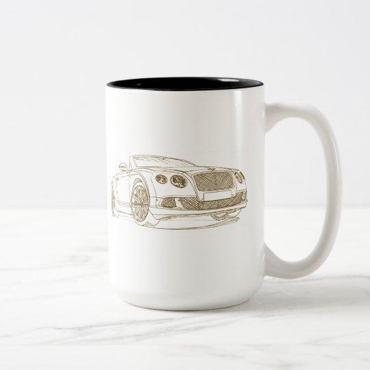 Ben GTSpeed Conv 2014 Two-Tone Coffee Mug
