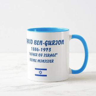 Ben-Gurion, David Israel Mug