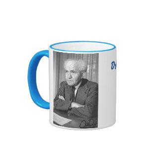 Ben-Gurion, taza de David Israel