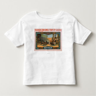 Ben-Hur at Chicago's Illinois Theatre Poster Toddler T-shirt