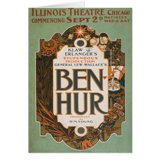 Ben Hur Card