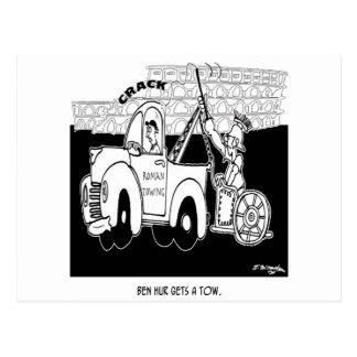Ben Hur consigue una remolque Postales