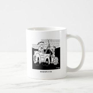 Ben Hur Gets a Tow Coffee Mug