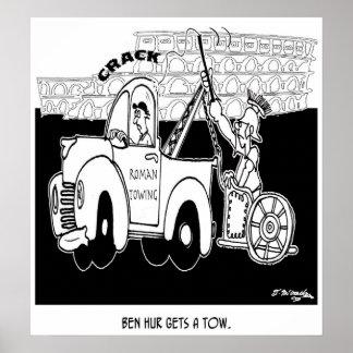 Ben Hur Gets a Tow Poster