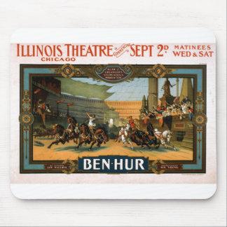 Ben Hur - poster del juego de Broadway Alfombrillas De Raton