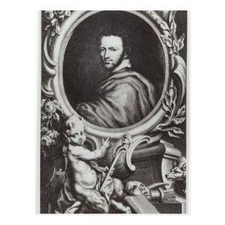 Ben Jonson  English playwright Post Card