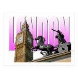 Ben-Londres-Inglaterra grande Tarjetas Postales