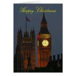Ben-Londres Navidad-Grande feliz Tarjeta