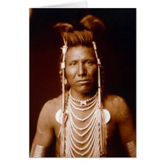 Ben Long Ear (Native American) Greeting Card