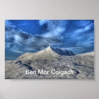 Ben Mor  Coigach Poster