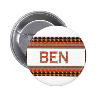 BEN name: Template Add your NAME or Photo  GOODLUC Buttons
