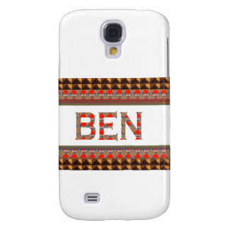 BEN name: Template Add your NAME or Photo  GOODLUC Samsung Galaxy S4 Cover