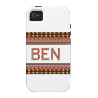 BEN name: Template Add your NAME or Photo  GOODLUC Case-Mate iPhone 4 Covers