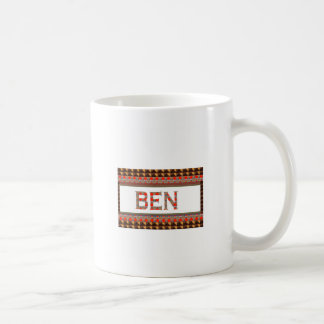 BEN name: Template Add your NAME or Photo  GOODLUC Coffee Mug