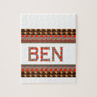 BEN name: Template Add your NAME or Photo  GOODLUC Jigsaw Puzzle