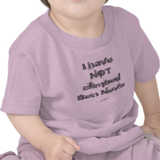 Ben Nevis 1 baby clothes T-shirts