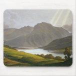 Ben Nevis, placa XII del 'paisaje del Grampian Mouse Pad