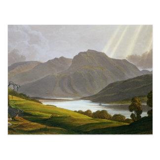 Ben Nevis placa XII del paisaje del Grampian Tarjetas Postales