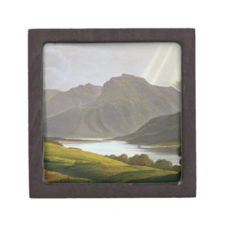 Ben Nevis, plate XII from 'Scenery of the Grampian Keepsake Box