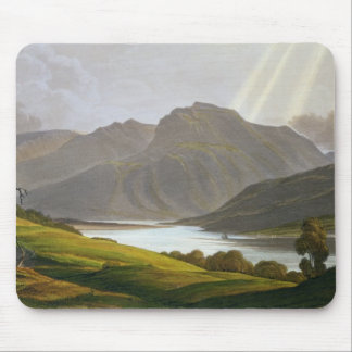 Ben Nevis, plate XII from 'Scenery of the Grampian Mouse Pad