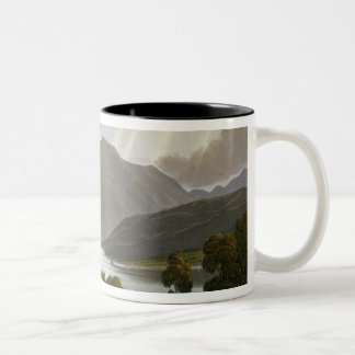 Ben Nevis, plate XII from 'Scenery of the Grampian Two-Tone Coffee Mug