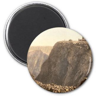 Ben Nevis Summit, Inverness, Scotland 2 Inch Round Magnet
