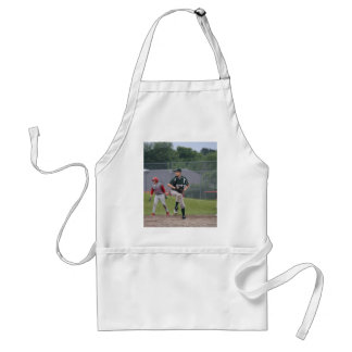 Ben pitching button adult apron