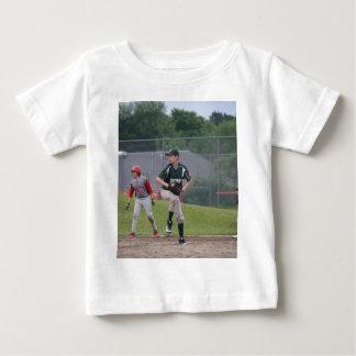 Ben pitching button baby T-Shirt