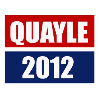 BEN QUAYLE 2012 POST CARDS