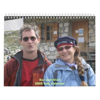 Ben y calendario 2008 de Italia de Sherie
