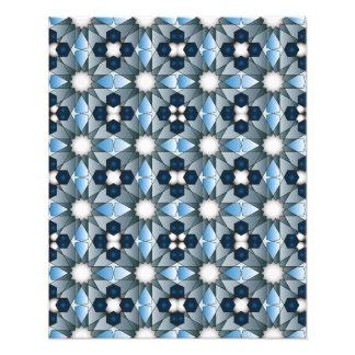 Ben Yusuf Madrasa Geometric Pattern 004 Photograph