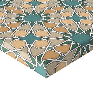 Ben Yusuf Madrasa Geometric Pattern 006 Canvas Print