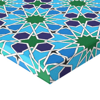 Ben Yusuf Madrasa Geometric Patterrn 10 Canvas Print