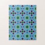 Ben Yusuf Madrasa Patterrn geométrico 10 Rompecabezas Con Fotos