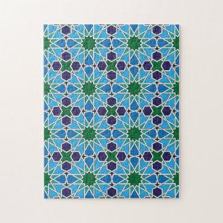 Ben Yusuf Madrasa Patterrn geométrico 10 Rompecabezas