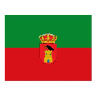 Benalup Casas Viejas Spain, Spain flag Postcard