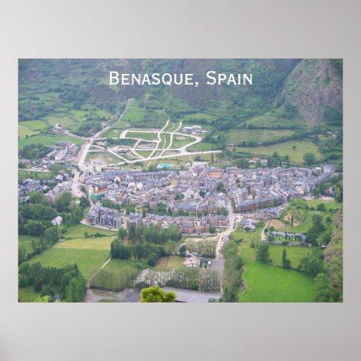 Benasque, España Póster