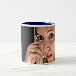 benazir-bhutto Two-Tone coffee mug
