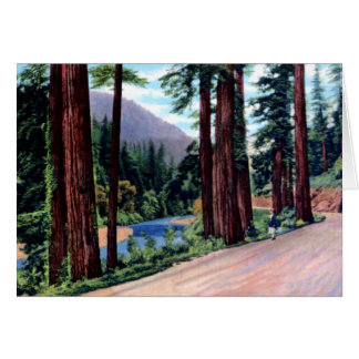 Benbow California South Fork of Eel River Card